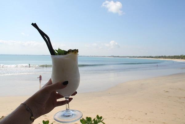 Volunteering in Bali beach