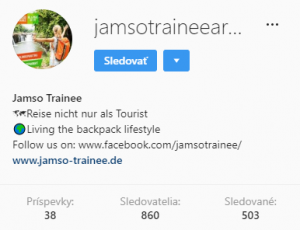 Jamso Trainee Instagram