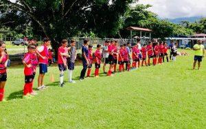 football costa rica volunteer team