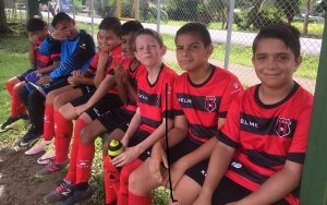 kids playing soccer costa rica